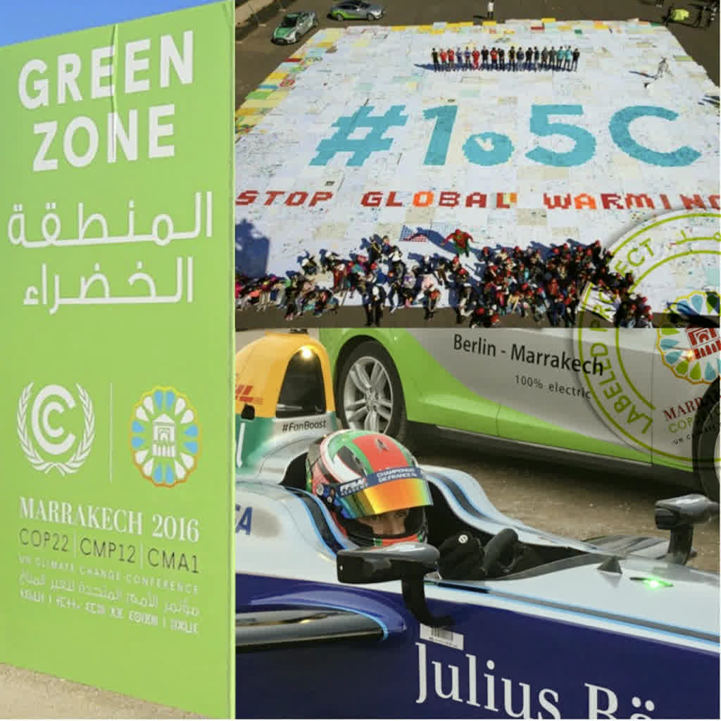 COP22 - wave.earth - Formula E